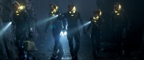 the team explores prometheus