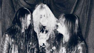 Mayhem- L-R: Øystein Aarseth, Per-Yngve-Ohlin, Jørn Stubberud