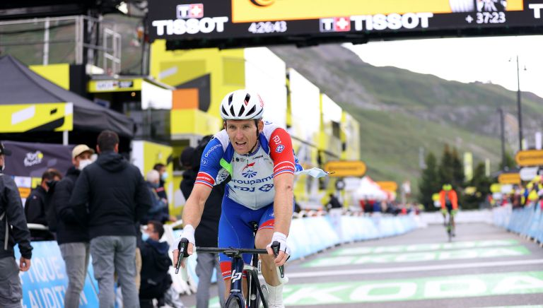 Arnaud Démare was eliminated from the Tour de France on stage nine