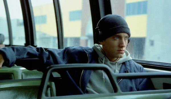 8 Mile Eminem Jimmy rides the bus