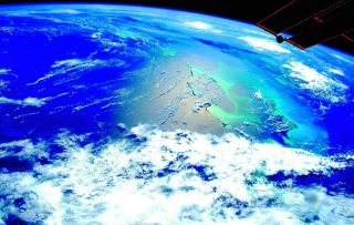 Before the space race, we could only imagine what our planet looked like from space.