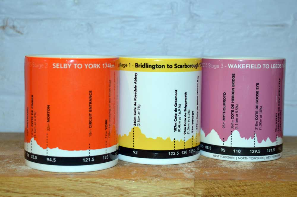 Got a favourite cycling route? Now you can put it on a mug