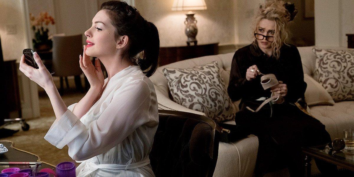 Anne Hathaway and Helena Bonham Carter in Ocean's Eight