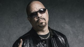 A portrait of Ice-T