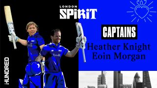 Eoin Morgan and Heather Knight will lead London Spirit.
