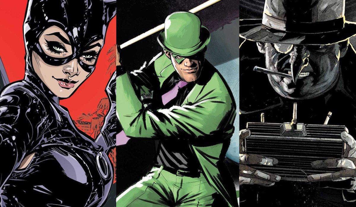 Catwoman, Riddler, Penguin DC Comics
