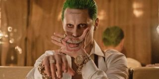 Jared Leto as The Joker in Suicide Squad