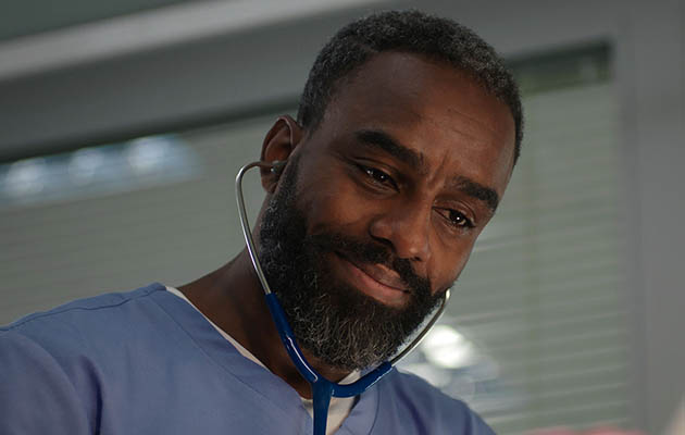 Charles Venn as Jacob in Casualty