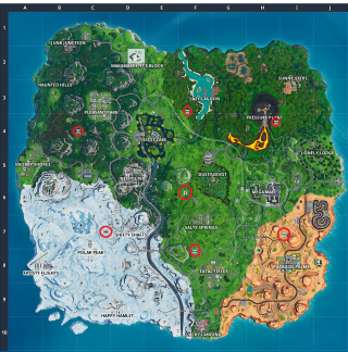 Map Out Locations on