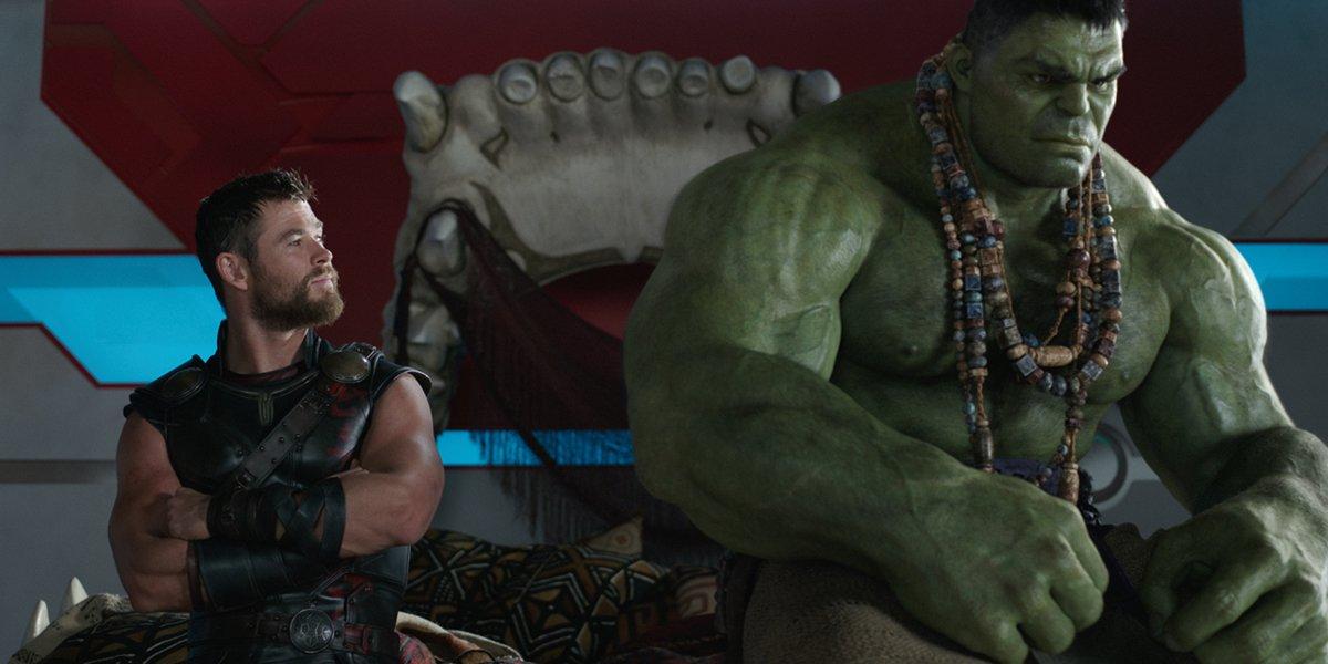 Thor Ragnarok Chris Hemsworth Thor Mark Ruffalo Hulk