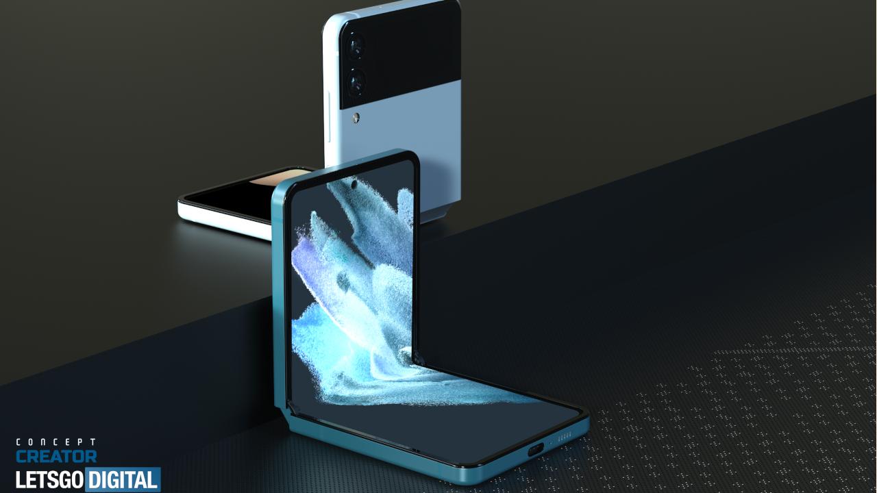 most anticipated phones: Samsung Galaxy Z Flip 3 renders