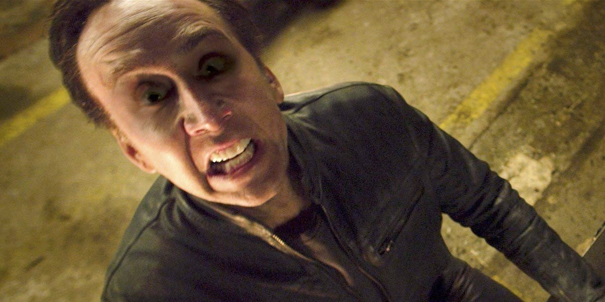 Nic Cage is Ghost Rider