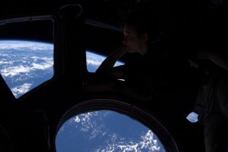 Space Station Life Has its Ups and Downs, Astronaut Says