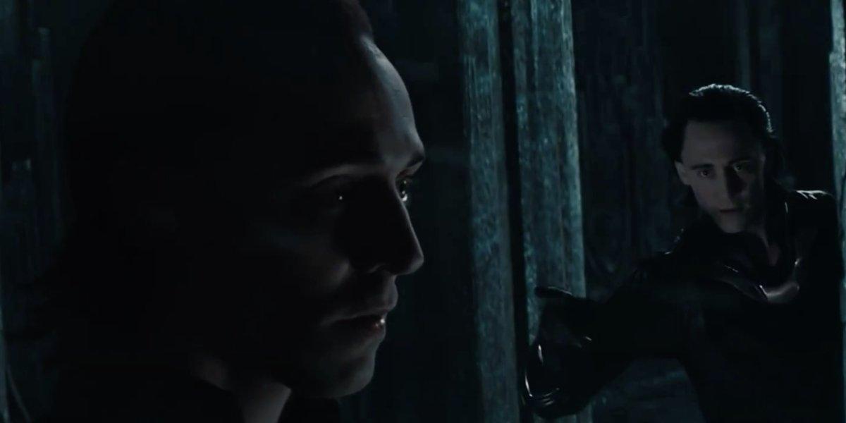 Tom Hiddleston and Tom Hiddleston in Thor