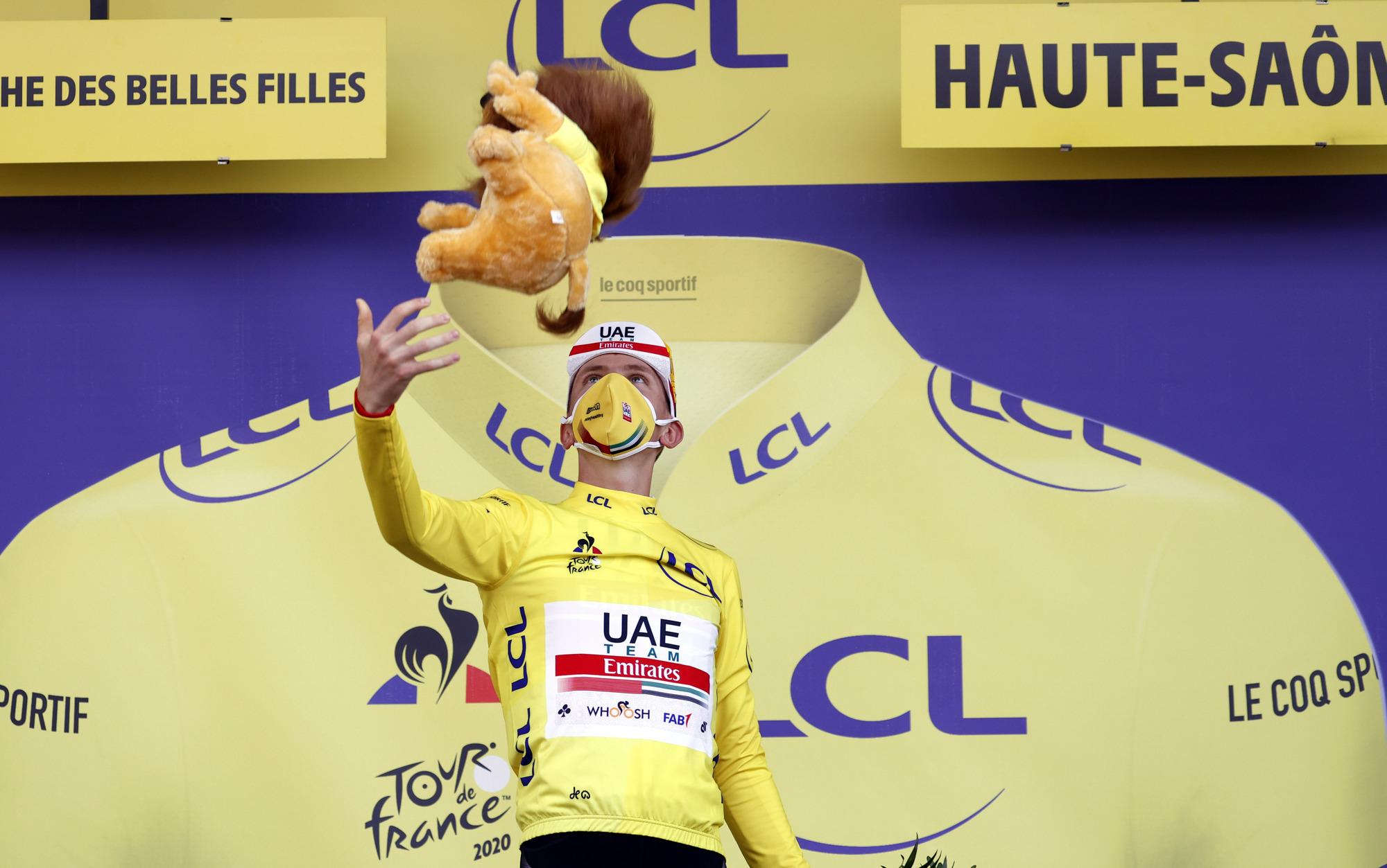 Tour de France 2020 - 107th Edition - 20th stage Lure - La Planche des Belles Filles 36.2 km - 19/09/2020 - Tadej Pogacar (SLO - UAE - Team Emirates) - photo POOL/BettiniPhoto©2020
