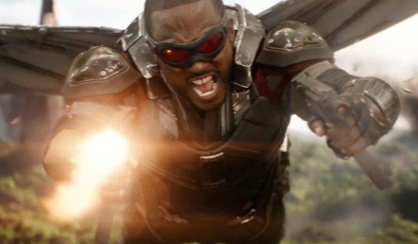 Falcon Anthony Mackie Infinity War