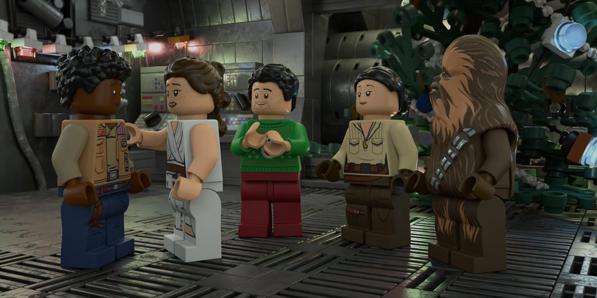 Disney+'s LEGO Star Wars Holiday Special Review: Cute, But Also Basically A Star Wars Clip Show