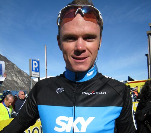 Chris Froome, Team Sky, March 2010