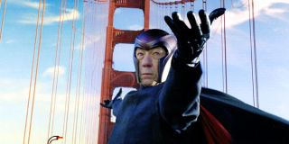 Magneto on the golden gate bridge in The Last Stand