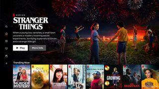 Netflix's English TV UI