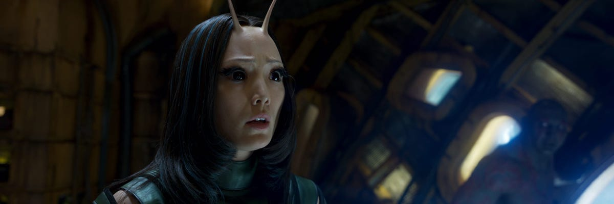 Pom Klementieff's Mantis in Guardians of the Galaxy Vol. 2
