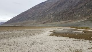 Badwater Basin in the Death Valley National Park.