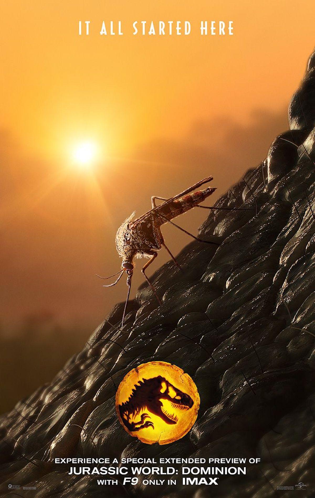 Jurassic World: Dominion IMAX preview poster