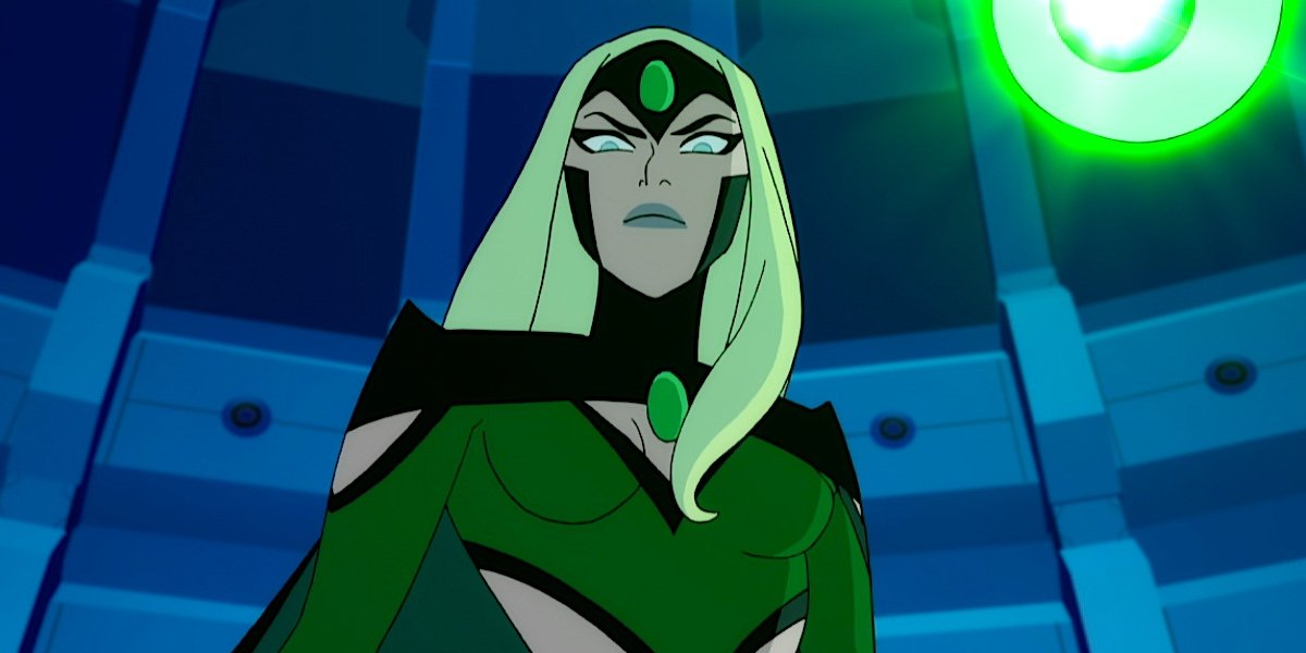 Sumalee Montano as Emerald Empress in Justice League vs. the Fatal Five