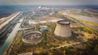 Chernobyl nuclear reactors.