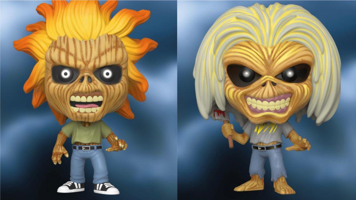 Iron Maiden's Eddie joins Funko's Pop! Rocks range