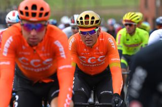 CCC Team's Greg Van Avermaet at the 2020 Kuurne-Brussel-Kuurne