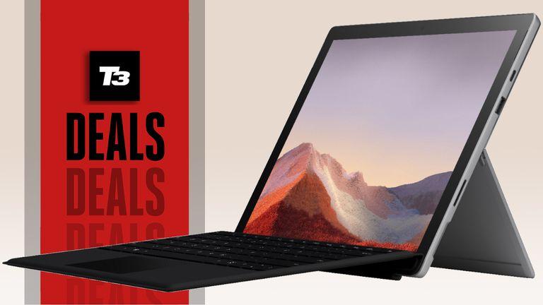 cheap student laptop deals surface pro 7