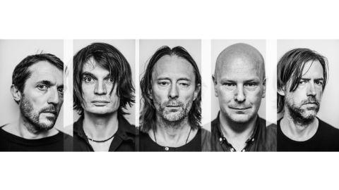 Radiohead band photograph