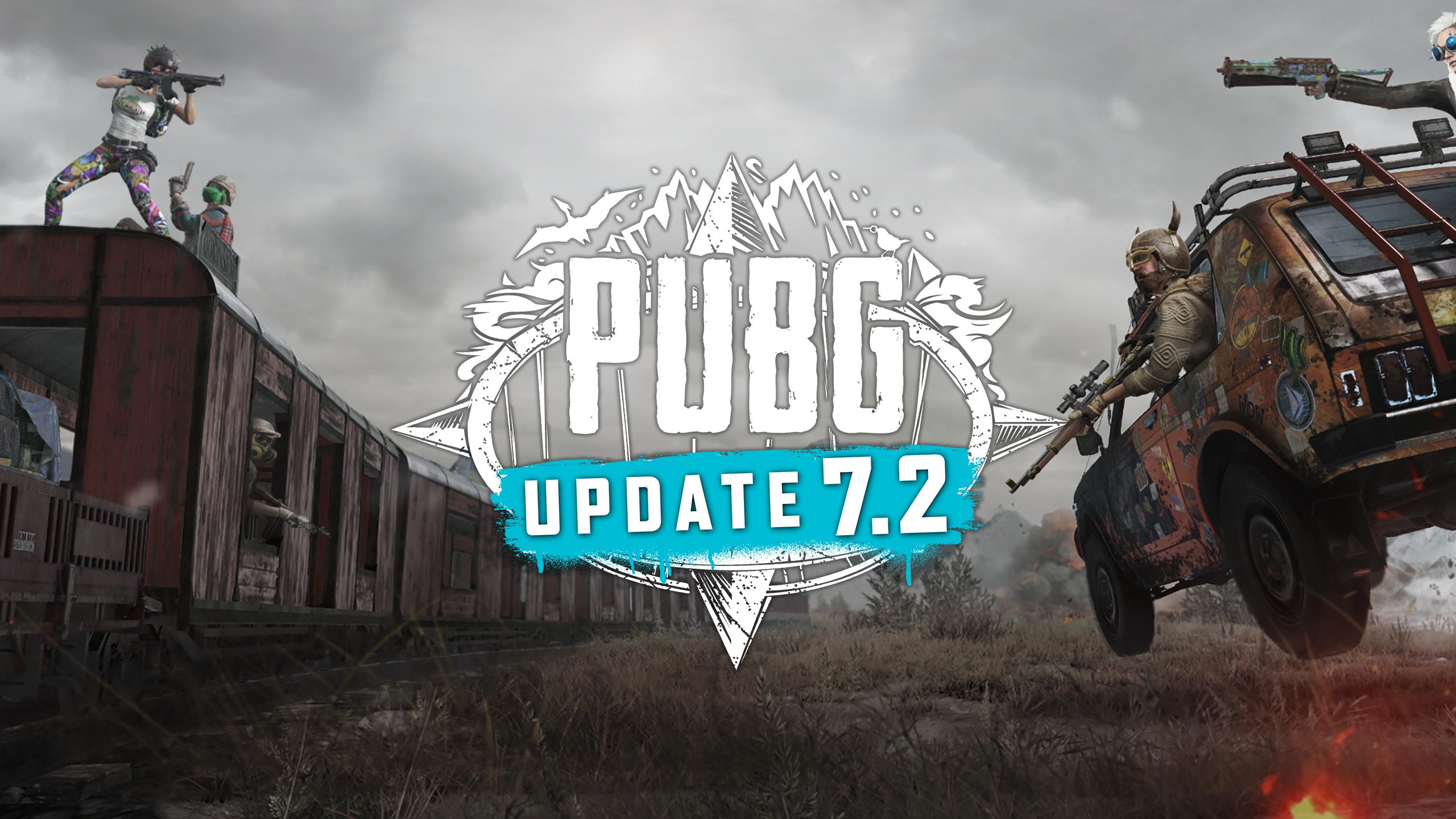 PUBG Update 7.2