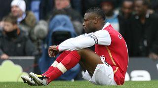 William Gallas Arsenal sulk