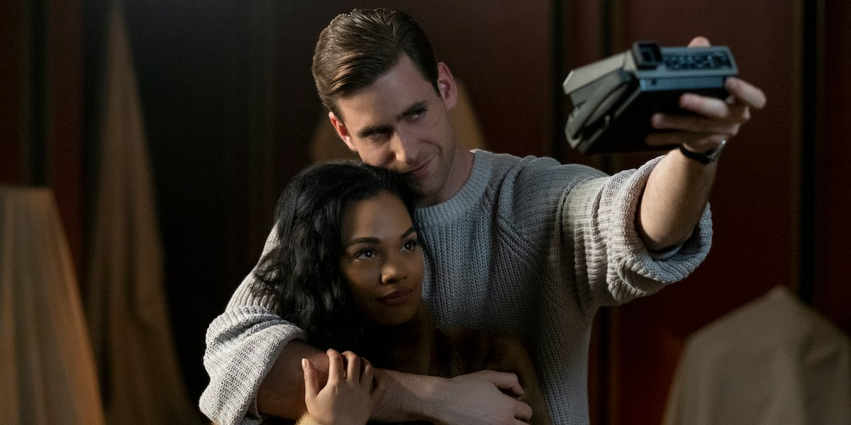 Tahirah Sharif and Oliver Jackson-Cohen in The Haunting of Bly Manor