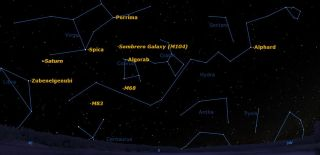 Constellations Between Saturn and Spica