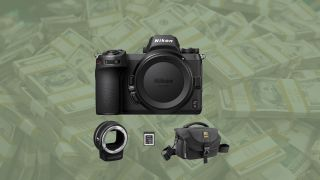 Save $547 on the Nikon Z6 mirrorless digital camera with FTZ mount adapter and bag kit