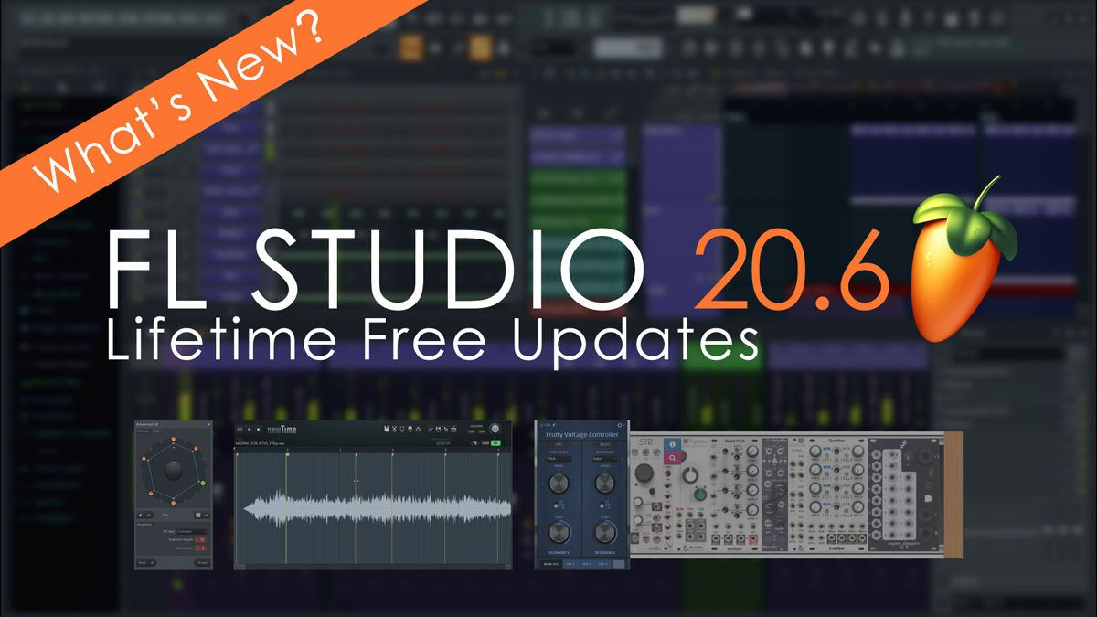 Find out what's new in FL Studio 20.6 in 60 seconds