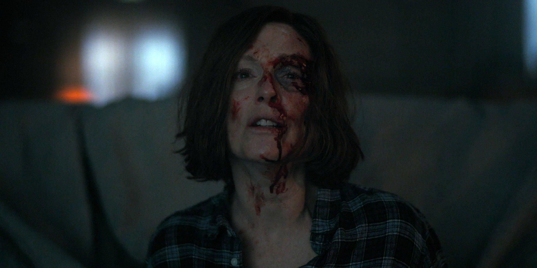 Julianne Moore as Lisey face cut in Lisey's Story