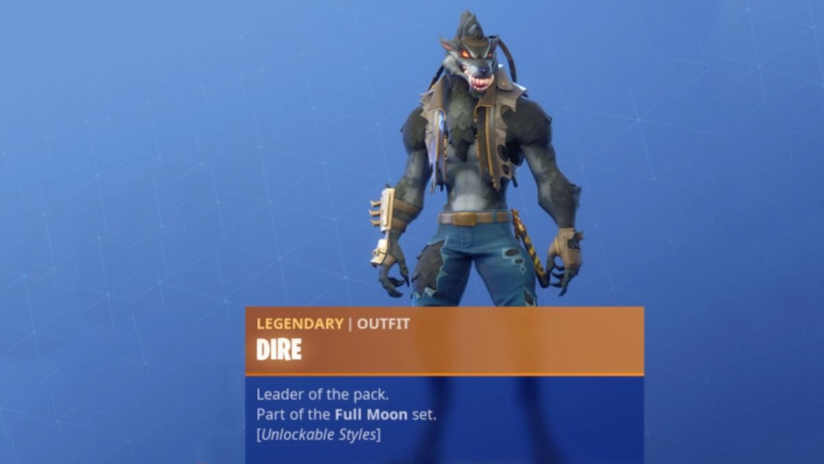 Fortnite Season 6 Tier 100 Skin Is A Werewolf And It Costs Half The