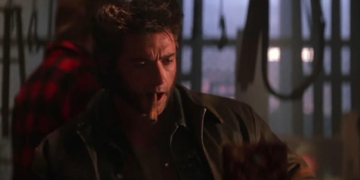 Hugh Jackson as Wolverine in X-Men 2000