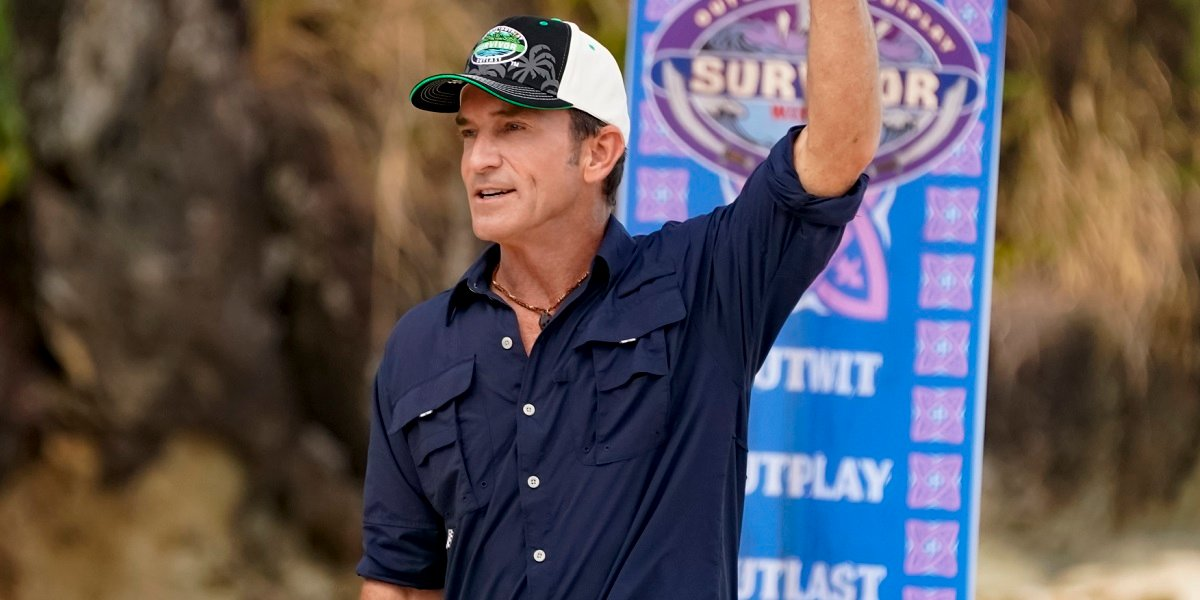 Jeff Probst Survivor: Winners At War CBS