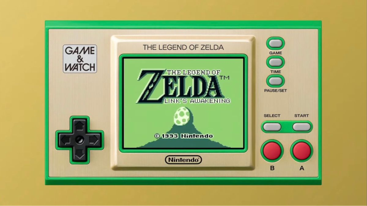 Zelda Game and Watch handheld includes the first two games and Link's Awakening – GamesRadar