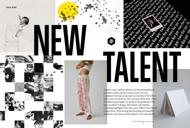 New Talent issue