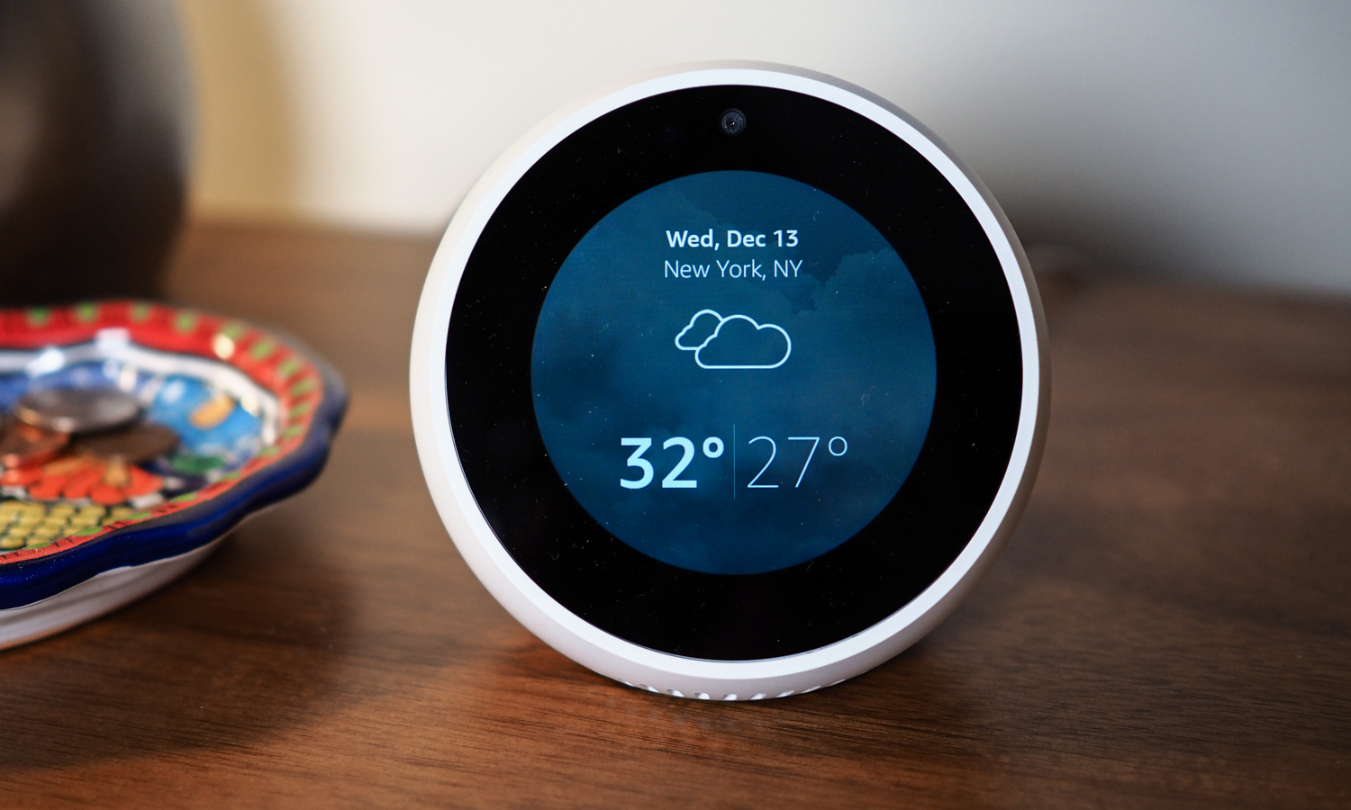 Echo Spot Smart Alarm Clock Credit: Amazon