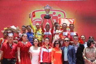 Team VUS Hochiminh City celebrate their success of 2019