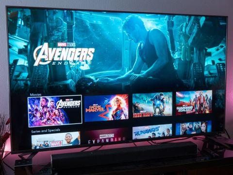 Disney Plus on Roku TV.