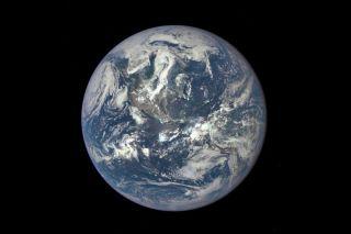 Earth Seen by NASA's DSCOVR Satellite