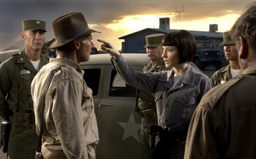 Indiana Jones and the Kingdom of the Crystal Skull - Harrison Ford as Indiana Jones & Cate Blanchett as Irina Spalko